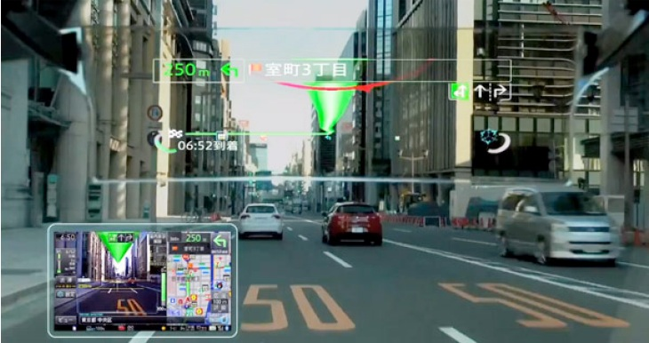 Pioneer at CEATEC 2013- HUD devices and Augmented Reality