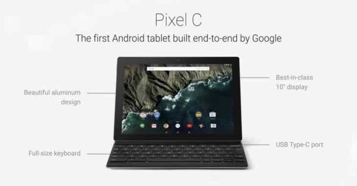 Pixel C release confirmation