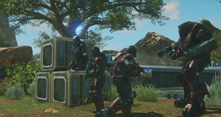PlanetSide 2 PS4 trailer at E3 2014