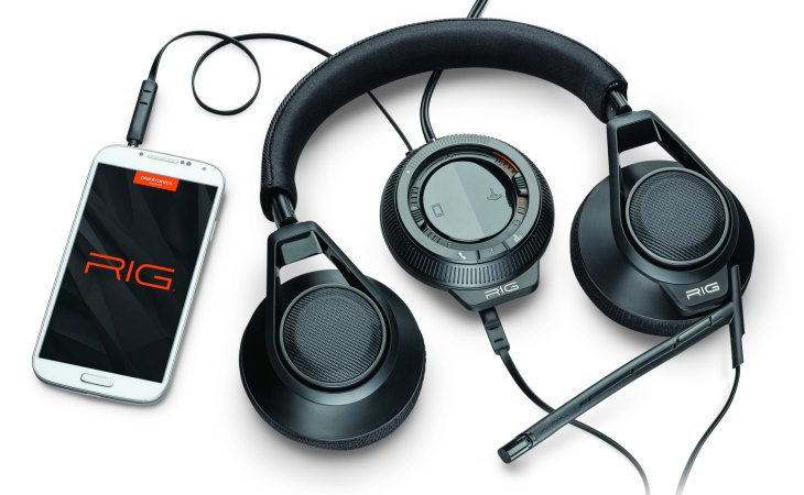 Plantronics RIG gaming headset unboxed