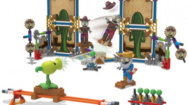 Plants Vs. Zombies figure sets adds to the K'NEX collections