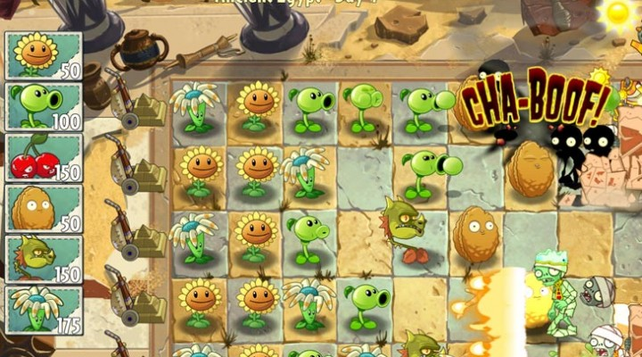 Plants vs. Zombies 2 eyes 25M without Android