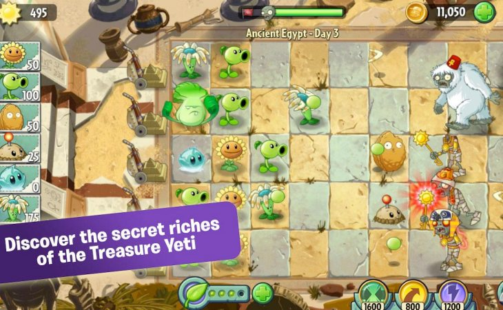 Plants vs. Zombies 2 worldwide Android launch – Product ...