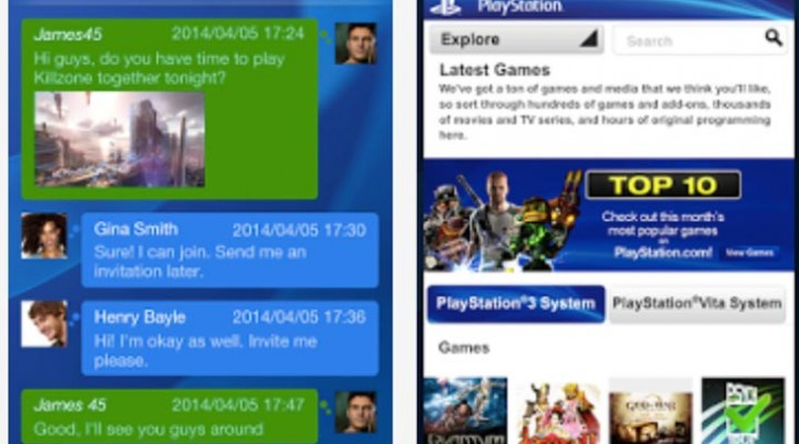PlayStation App 2.0 Android, iOS update for PS4 features