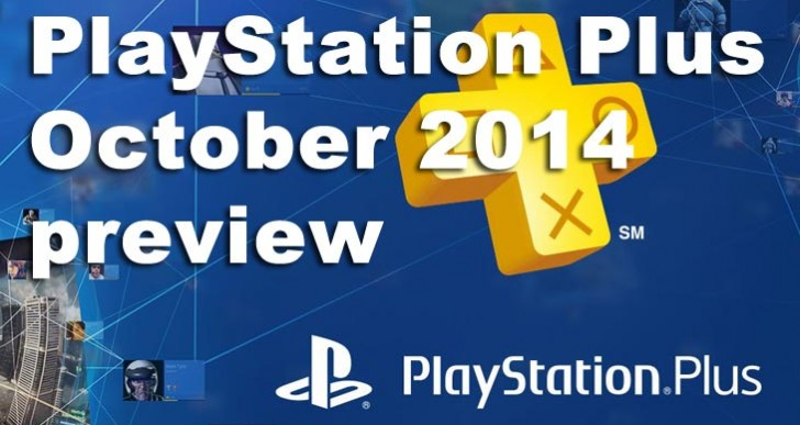 PlayStation Plus October 2014 preview by PS4 predictions