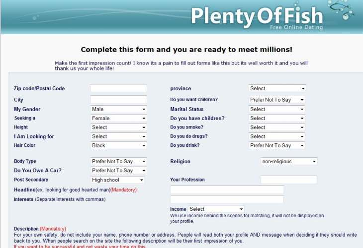 Does plenty of fish have gay dating