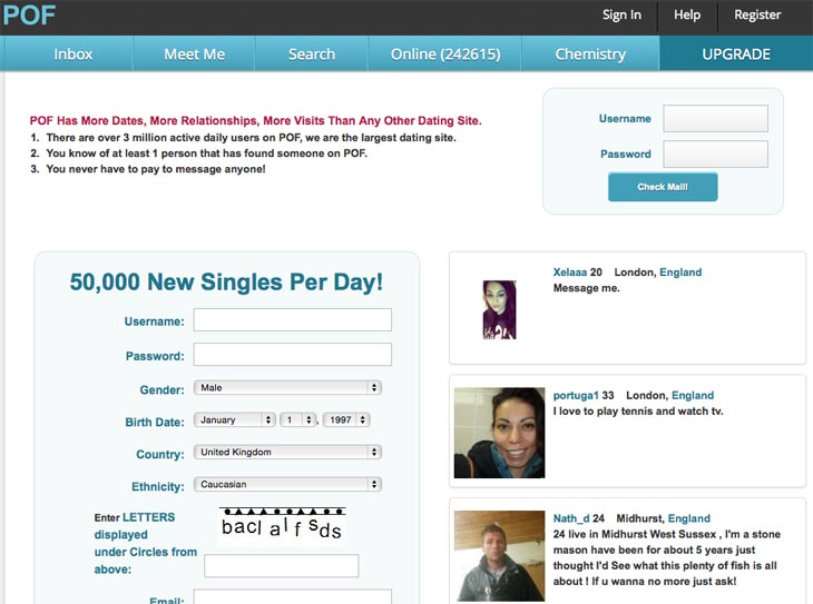 Are plenty of fish profiles fake for Www plenty of fish com