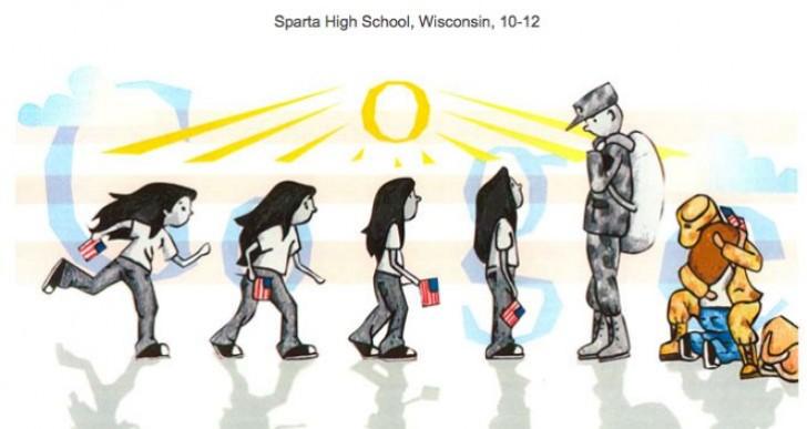 Poignant Doodle 4 Google entry winner detailed in video