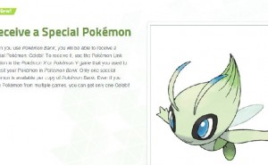 Nintendo gifting Celebi as first Pokemon X & Y giveaway