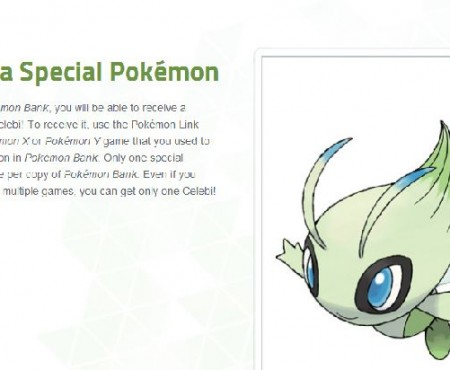 Nintendo gifting Celebi as first Pokemon X & Y giveaway