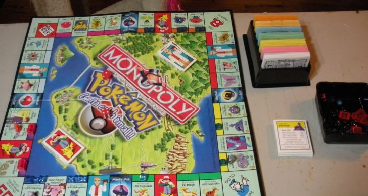 Pokemon and Zelda get the Monopoly treatment