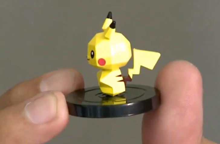 One Pokemon Rumble U figure up close