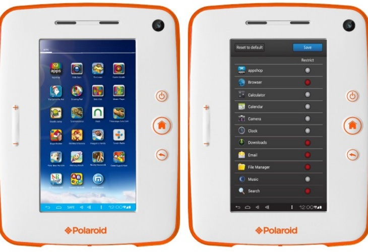 Polaroid Kids Tablet 2 vs. Nabi 2 price disparity
