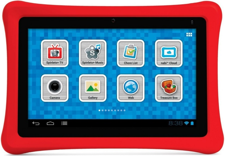 The Nabi 2 sees competition with the Polaroid Kids Tablet 2