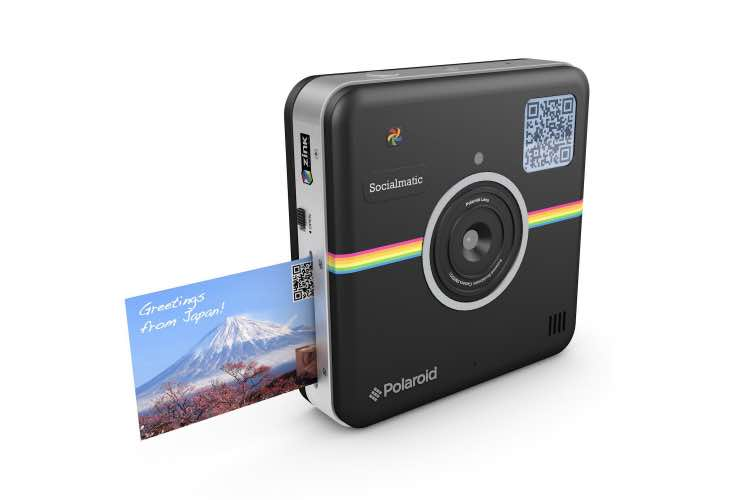 Polaroid Socialmatic camera release