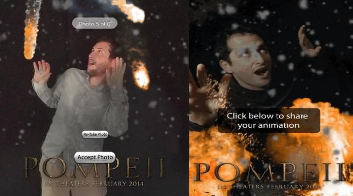 Pompeii Ash-Yourself app for iPad, iPhone