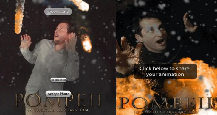 Pompeii Ash-Yourself app for iPad, iPhone