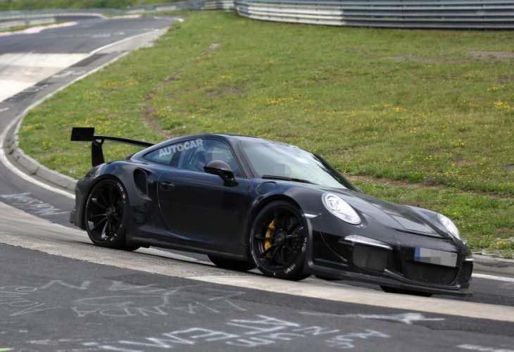 Porsche 911 GT3 RS manual transmission