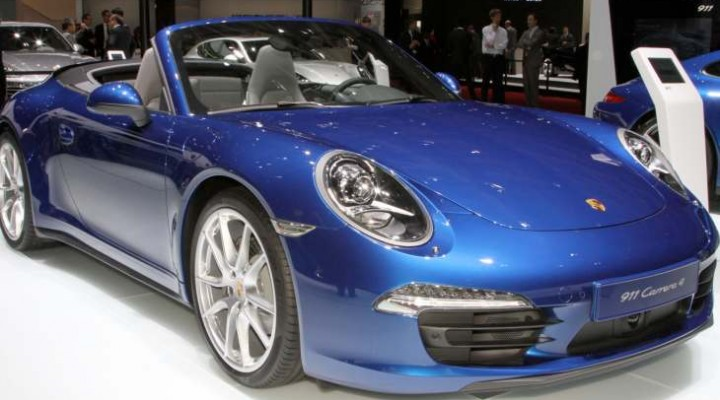 Porsche 911 recalls list includes 2012-2013 models