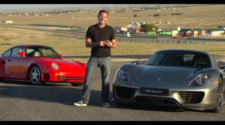 Porsche 918 Spyder vs. 959 for innovation
