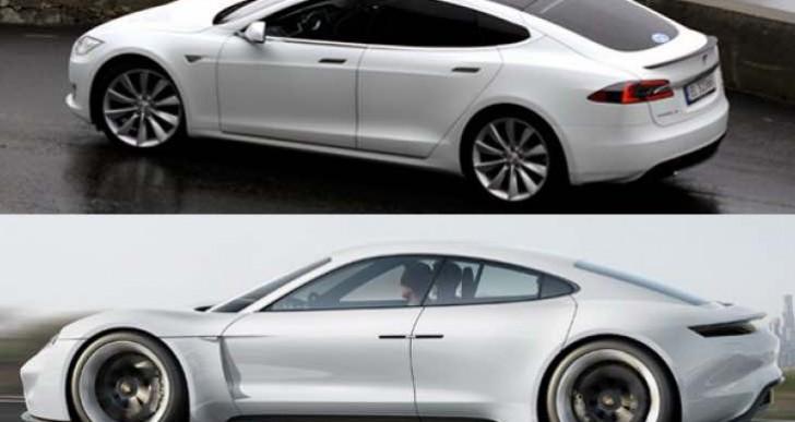 Porsche Mission E preferred over Tesla Model S in poll