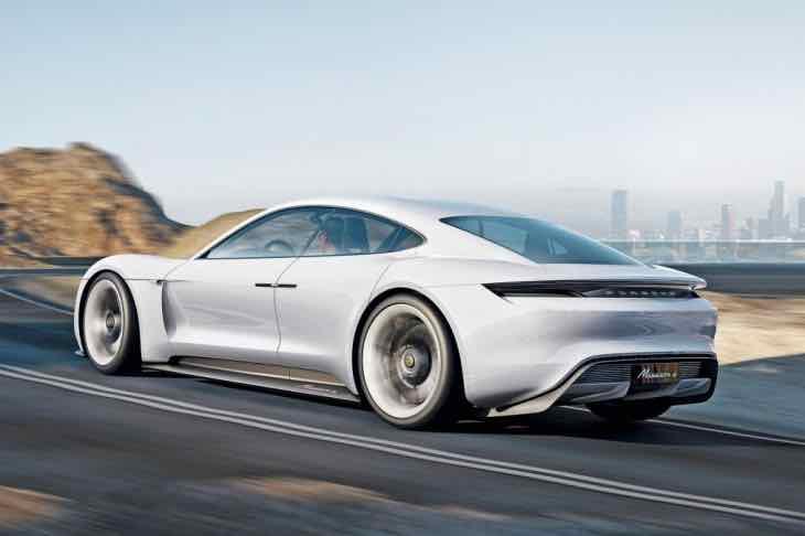 Porsche Mission E release date