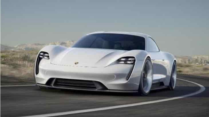 Porsche Mission E release