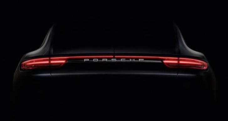 Porsche Panamera 2017 interior looks slick