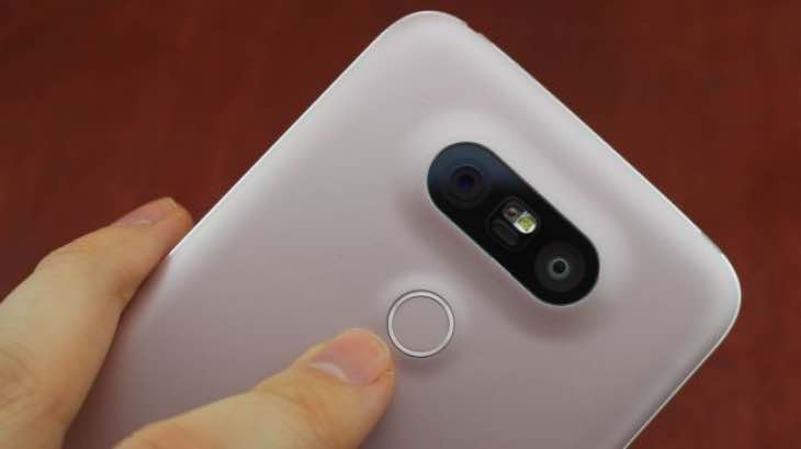 Possible LG G6 fingerprint scanner
