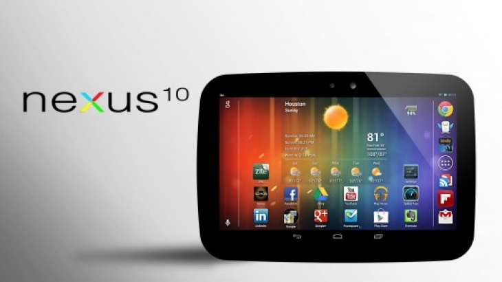 Possible Nexus 10 at CES 2014