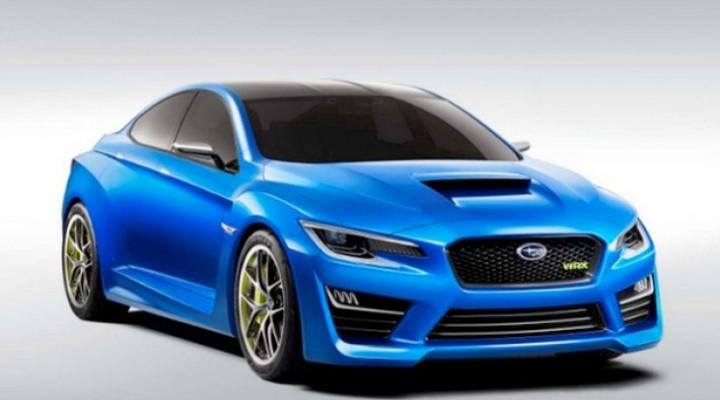Possible Subaru WRX Concept specs and illustrations