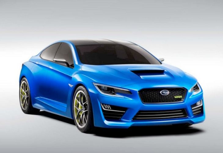Possible Subaru WRX Concept specs and illustrations