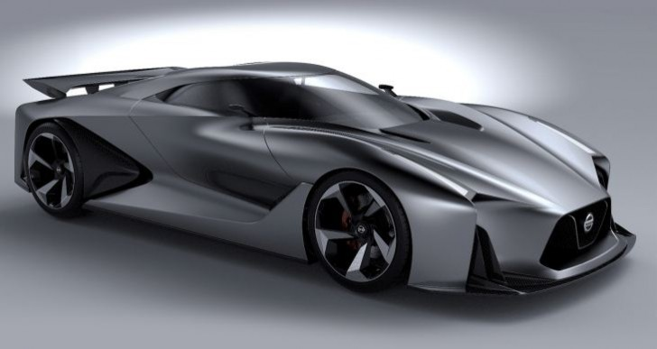 Possible next generation Nissan GT-R at Goodwood