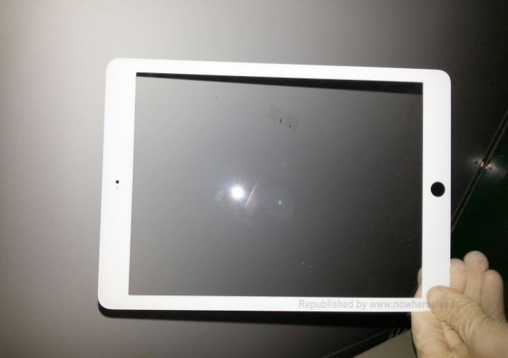 Potential iPad 5 thinner bezel eye candy
