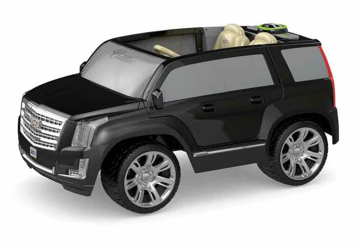 Power Wheels Black Cadillac Escalade Ride On