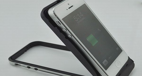 Powerful iPhone 5 battery case from Esorun