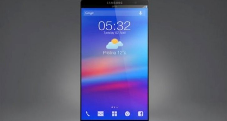 Predicting Samsung Galaxy S5 design from S4 concept