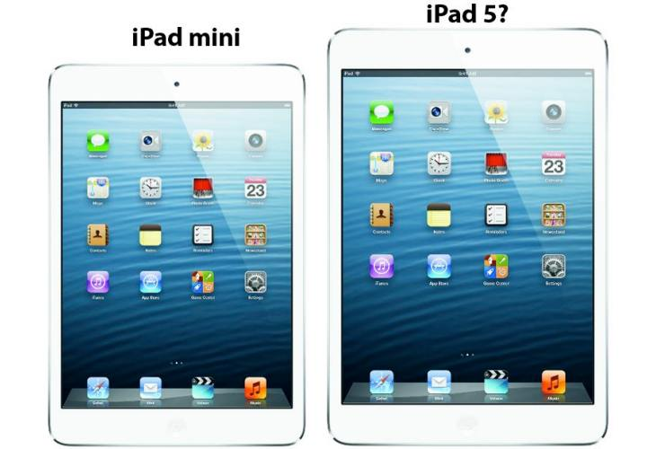 Predicting iPad 5 form-factor with latest cases