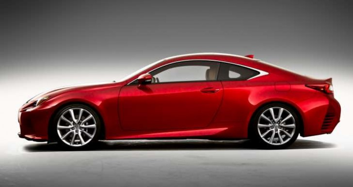 Price of Lexus RC option packages