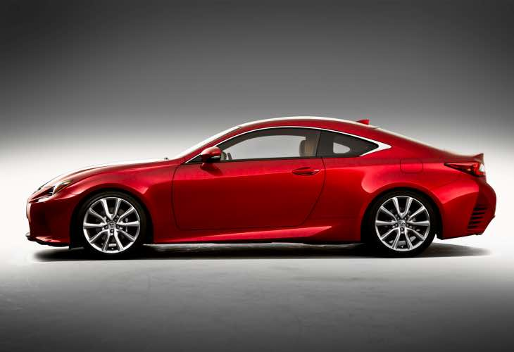 Price of Lexus RC options packages