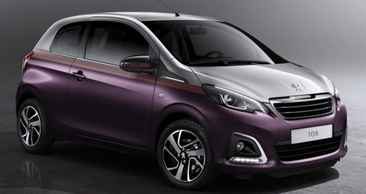 Price of new Peugeot 108 similar to rivals