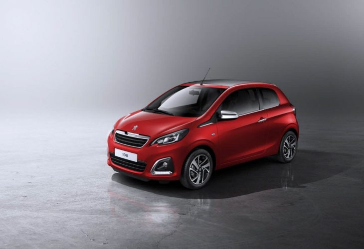 Price of new Peugeot 108
