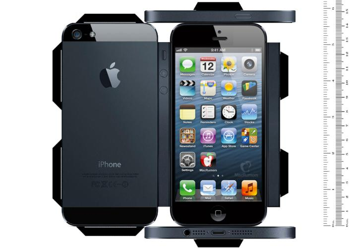 Print a 5-inch iPhone, although mockup not waterproof