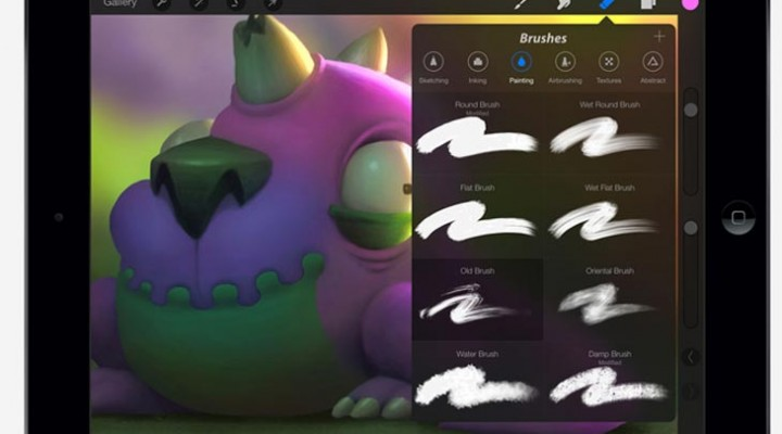 Procreate app reasoning for Android tablet