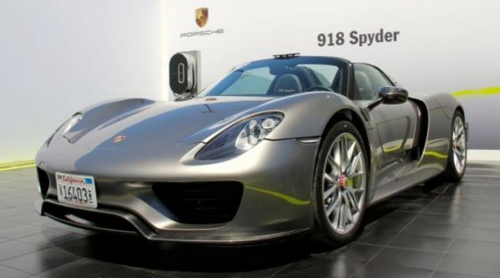 Production Porsche 918 Spyder planned for Frankfurt