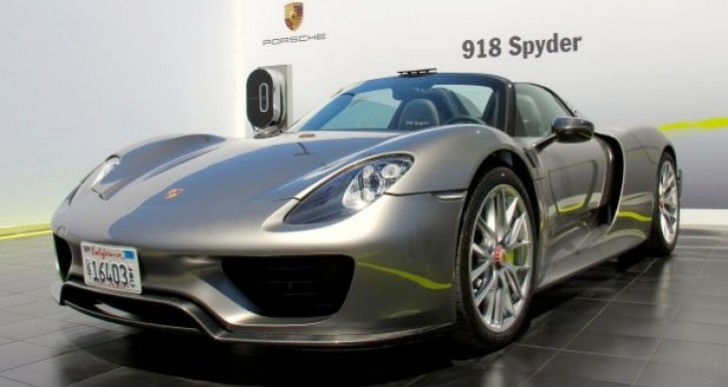Production Porsche 918 Spyder planned for Frankfurt