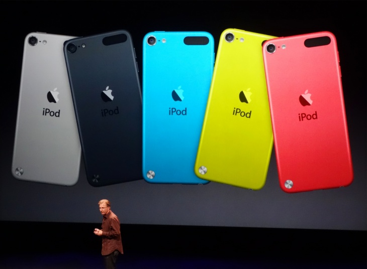 Production of iPod touch 6th generation display implied
