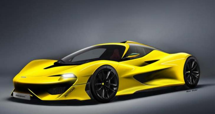 Proposed 2018 McLaren F1 successor specs