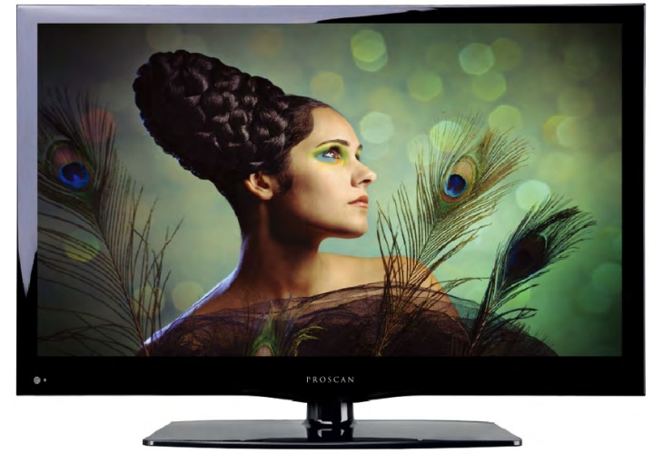 Proscan PLED2243A 22-inch LED HDTV value seen in specs