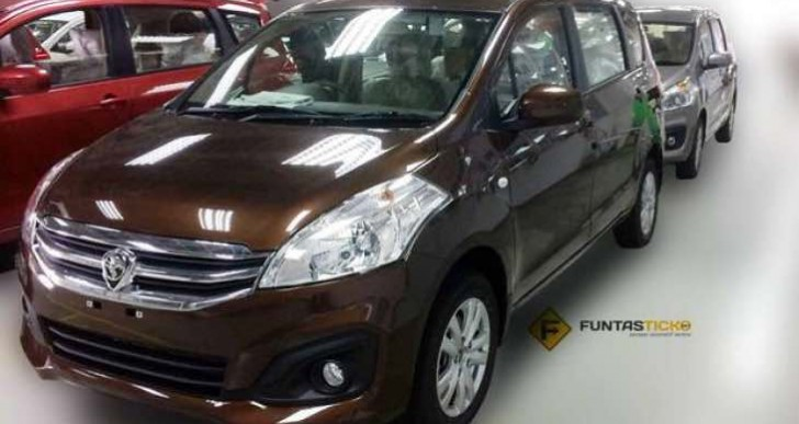 2017 Proton Ertiga MPV imminent launch with colour options